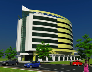 Ghana Cyber City Building Design